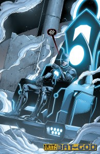 Batman on Mobius Chair