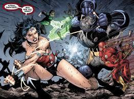 Darkseid v JL