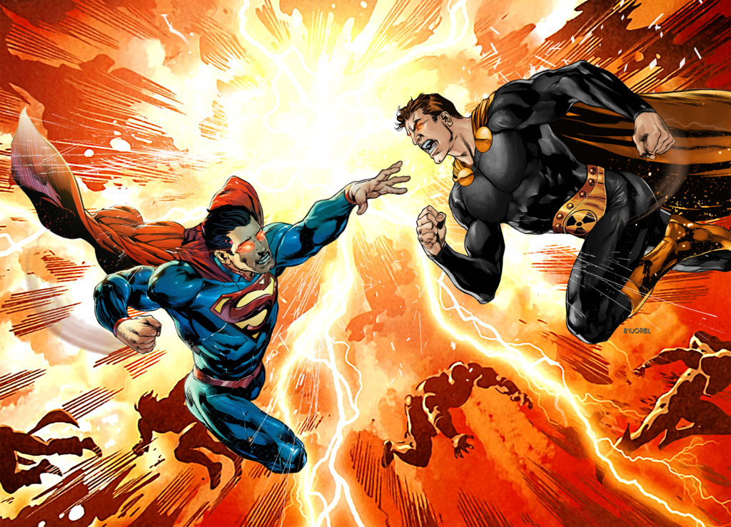 Superman Vs Hyperion Marvel Vs Dc 1 Comic Booger