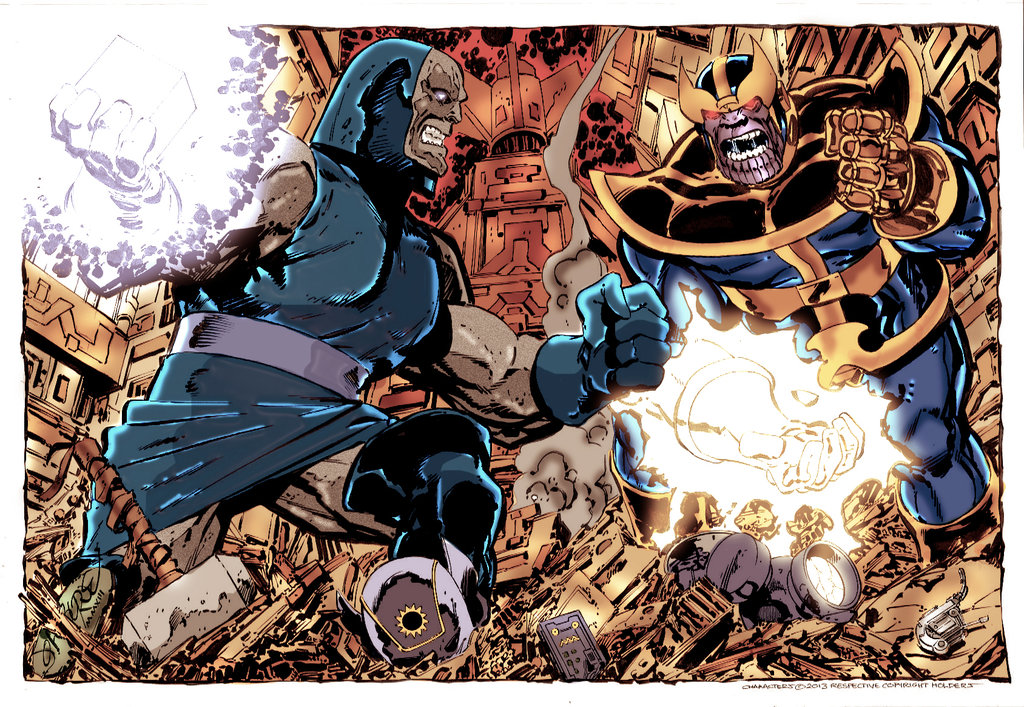Thanos vs  Darkseid – Marvel vs  DC #9 – Comic Booger